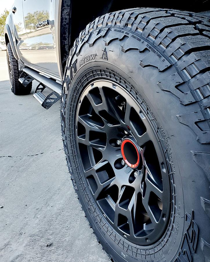 FSW - 2021 4TR Pro Style Flow Forged Wheels on Toyota Tacoma