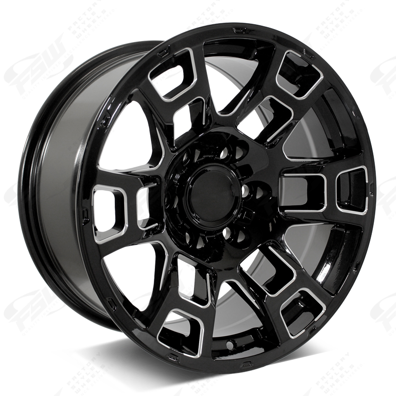 FSW - Gloss Black Milled 2021 Flow Forged 4TR Pro Style - F250 (Right Facing)